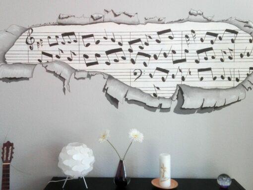 Mit Musik…